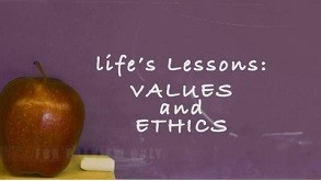 Life's Lessons: Values & Ethics training video meeting opener.