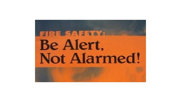 Fire Safety: Be Alert, Not Alarmed!