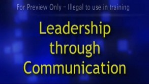 Leadership Through Communication