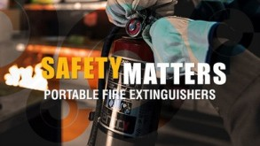 Safety Matters: Portable Fire Extinguishers