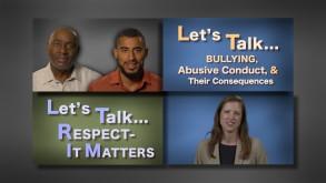 Let's Talk . . . Bullying & Respect series