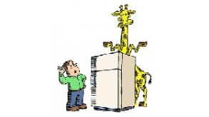 How Do You Put A Giraffe Into A Refrigerator?