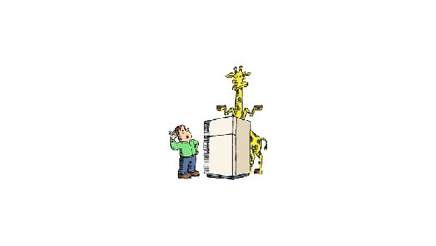How Do You Put A Giraffe Into A Refrigerator?
